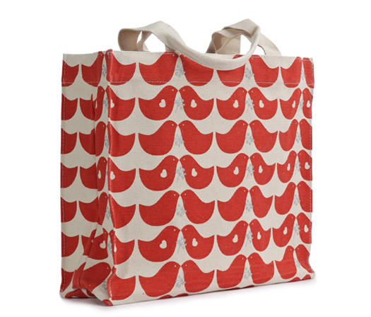 Birds tote bag by Apple and Bee
