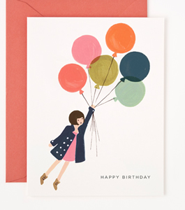 Fly Away Birthday Card by Rifle Paper Co