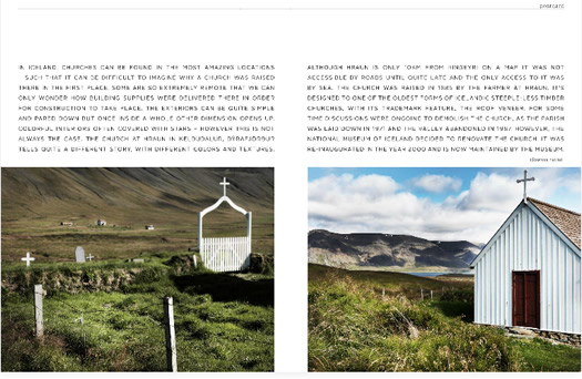 Icelandic churches in Home & Delicious