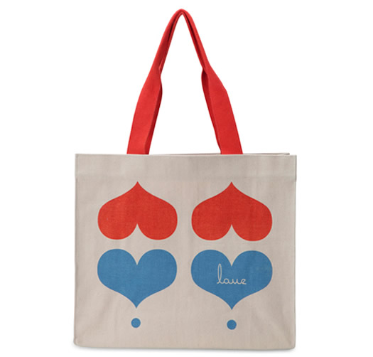 Love tote by Apple and Bee