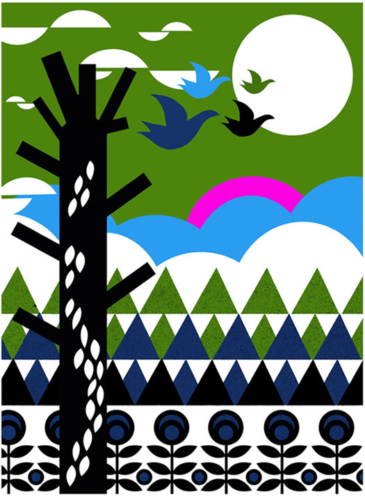 Migration from the Early Bird card range by Nadia Taylor
