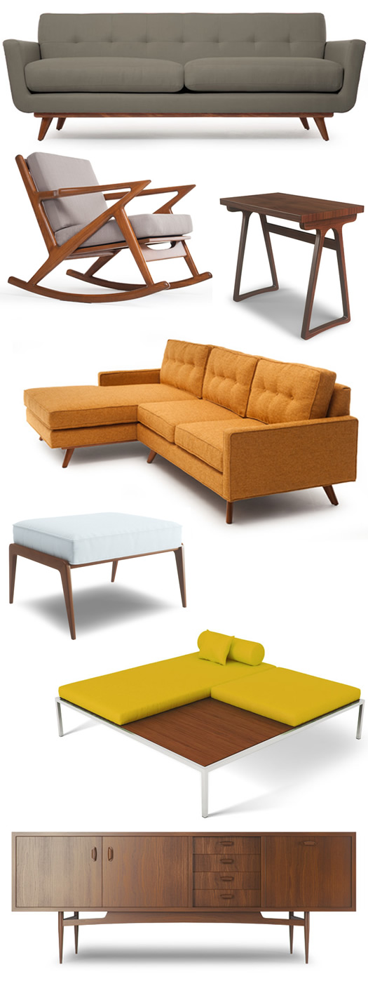 Thrive mid century modern furnishings