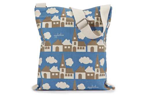 Town kids library bag by Apple and Bee