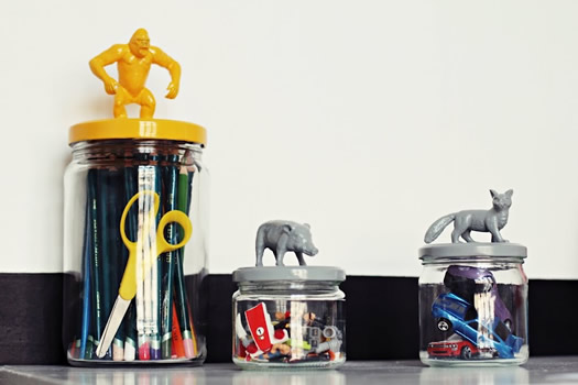 Animal jars by The 2nd Life of Mine