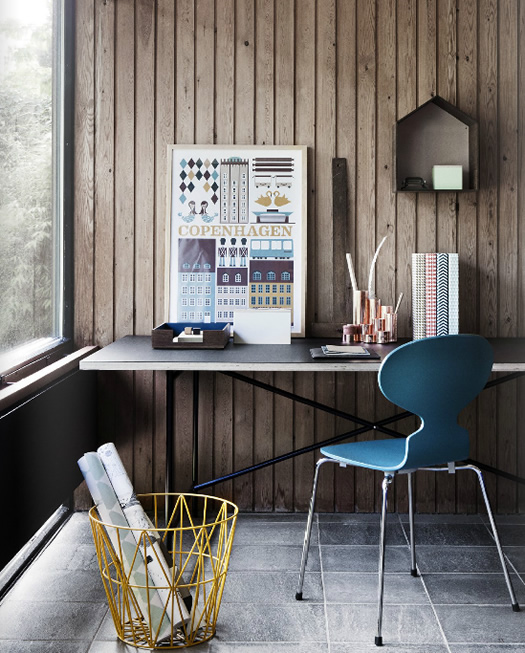 Desk accessories and workspace by Ferm Living