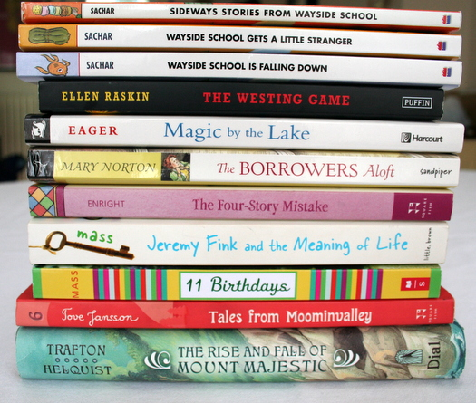 Kids book reading recommendations by Charlotte's Fancy