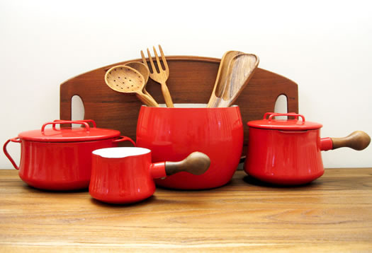 Kobenstyle set in red
