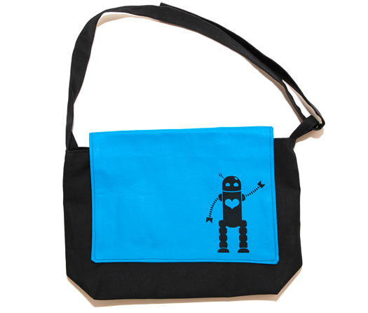 Ellie Bellie Kids blue messenger bag