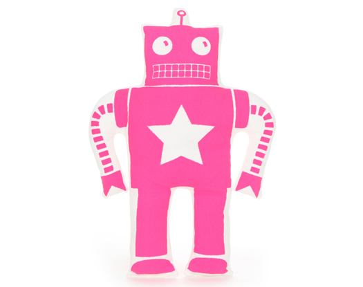 Ellie Bellie Kids pink robot