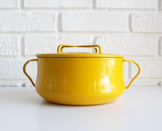 Yellow Kobenstyle casserole