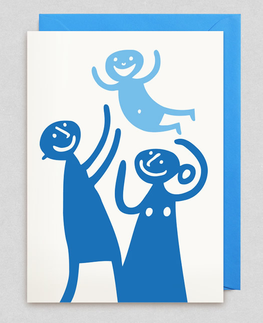 Bengt and Lotta Its a Boy card at Lagom