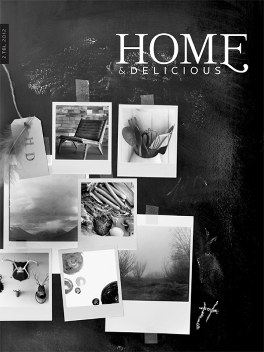 Home and Delicious Issue 2 Cover