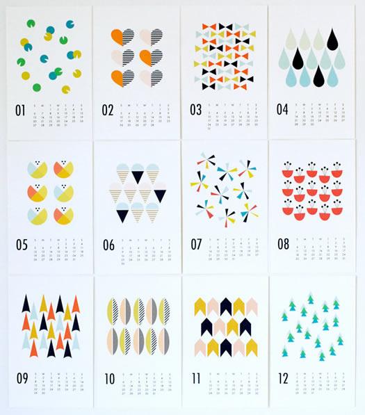 Dozi 2013 calendar  all months