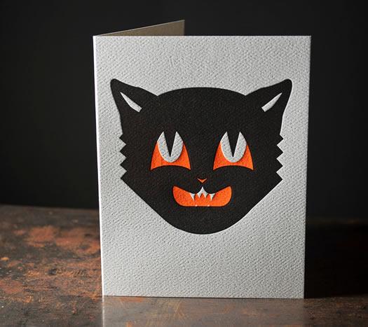 Halloween Cat card by Pike Street Press