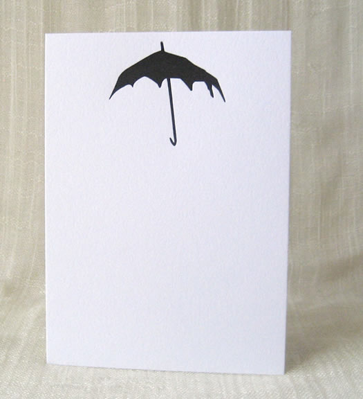 Scary Umbrella card by Shop Inviting