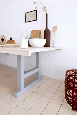 Slow Wood rectangular table
