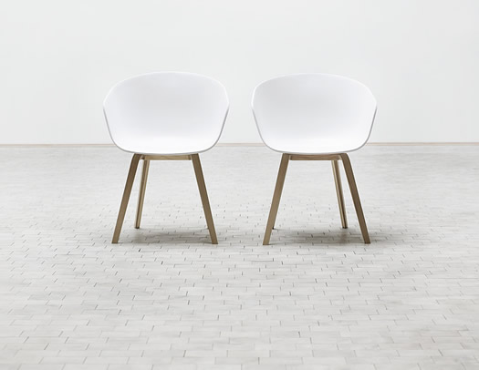About a Chair by HAY in white