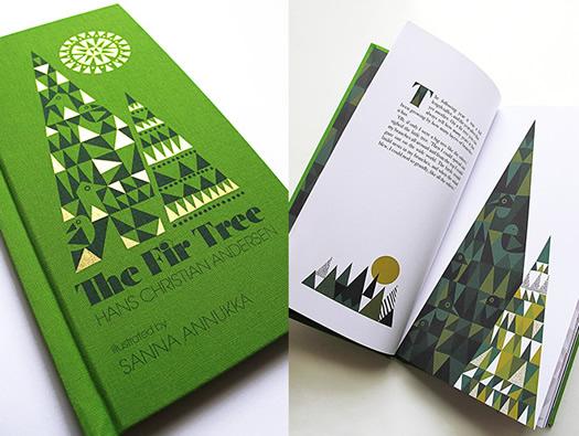The Fir Tree illustrated by Sanna Annukka