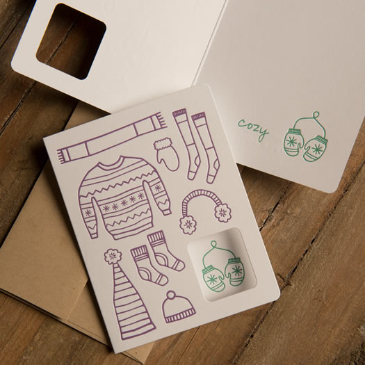 Cozy card by Moxie House Paper Goods
