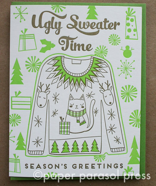 Ugly Sweater Time by Paper Parasol Press