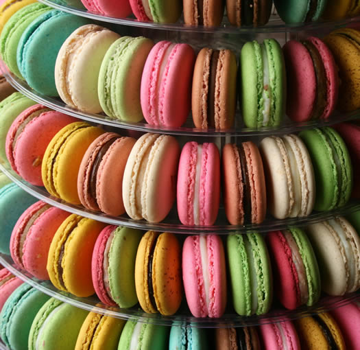 Macaron stand by Blog Le 15