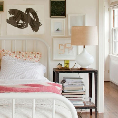 Bedroom styled by Schoolhouse Electric