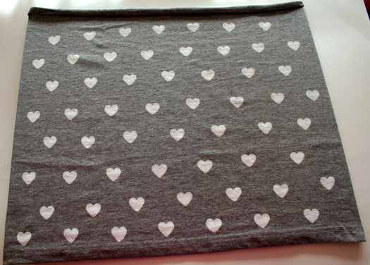 Gray Valentine's Scarf by Charlotte's Fancy