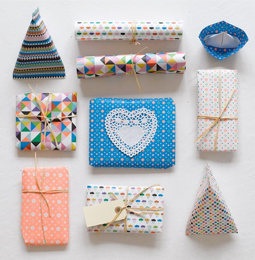 Wrapping paper by Mini Mega